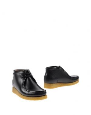Полусапоги и высокие ботинки SEBAGO. Цвет: черный