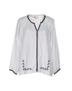 Pубашка LOCAL APPAREL. Цвет: белый