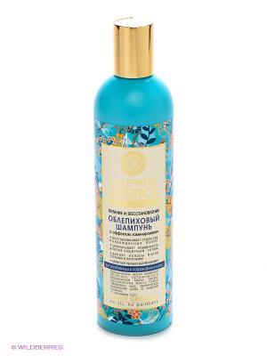 Шампунь облепиховый для поврежд.волос 400мл Natura Siberica. Цвет: голубой