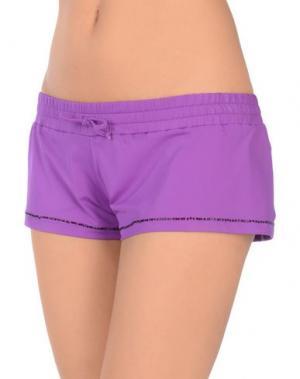 Пляжные брюки и шорты FAANJ. Цвет: фиолетовый