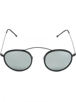 Солнцезащитные очки Met-ro Spektre. Цвет: чёрный