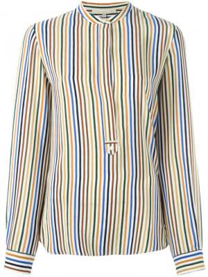Блузка в полоску Vanessa Bruno. Цвет: многоцветный