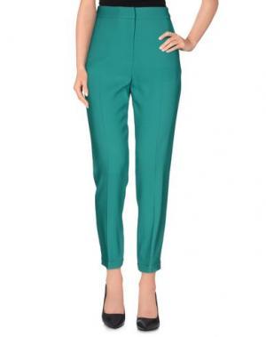 Повседневные брюки MATTHEW WILLIAMSON. Цвет: зеленый