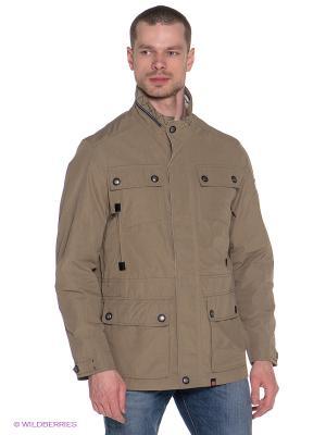 Куртка Gate One. Цвет: светло-бежевый