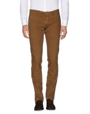 Повседневные брюки SIVIGLIA WHITE. Цвет: коричневый