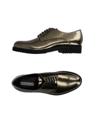 Обувь на шнурках RÊVE D'UN JOUR. Цвет: золотистый