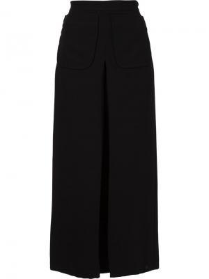 Укороченные брюки с накладными карманами Rachel Comey. Цвет: чёрный