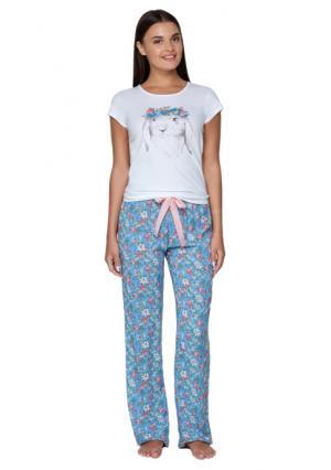 Комплект: фуфайка + брюки Infinity Lingerie. Цвет: с рисунком (набивка)