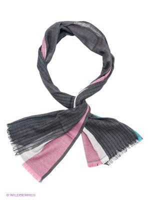 Палантин Venera. Цвет: темно-серый, светло-серый, розовый