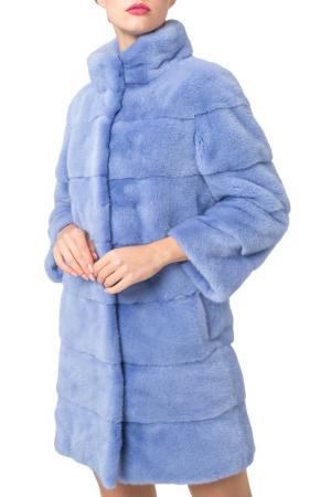 Шуба PT Quality Furs. Цвет: синий