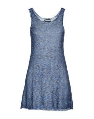 Короткое платье NORTH POLE. Цвет: синий