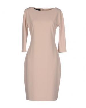 Платье до колена TWELVE-T. Цвет: розовый