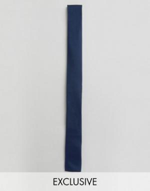 Noak Галстук с квадратными концами. Цвет: темно-синий