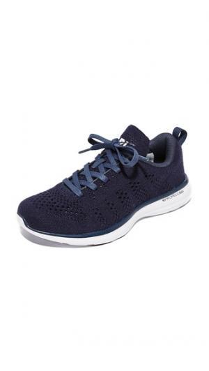 Кашемировые кроссовки Techloom Pro APL: Athletic Propulsion Labs. Цвет: темно-синий