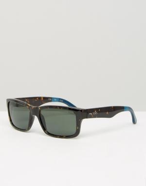 Toms Квадратные солнцезащитные очки Culver. Цвет: черный