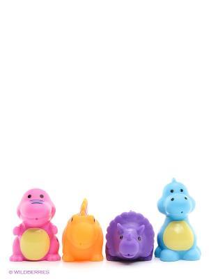 Игрушки в ванну Canpol babies. Цвет: фиолетовый, голубой, оранжевый, розовый