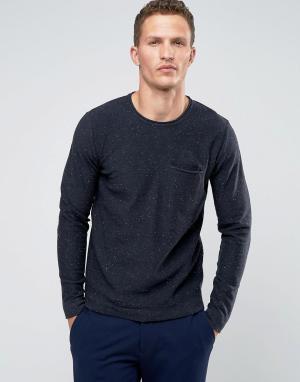 Troy Джемпер с карманом. Цвет: темно-синий