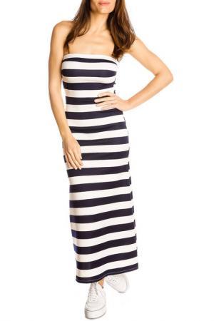 Платье GAZOIL. Цвет: синий