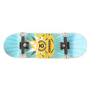 Фингерборд  П9 С Графикой Light Blue/Yellow/Union Turbo-FB. Цвет: голубой,желтый