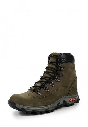 Ботинки трекинговые Strobbs. Цвет: зеленый