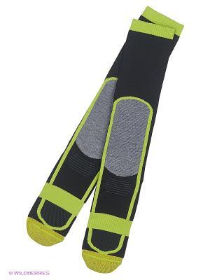 Носки DC Shoes. Цвет: черный, желтый