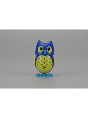 Сова с домиком, синяя желтыми крыльями Silverlit. Цвет: желтый, синий