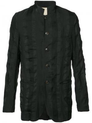 Приталенный пиджак на пуговицах Uma Wang. Цвет: чёрный