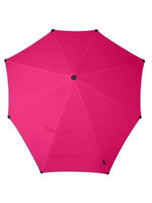 Зонт-трость senz Original bright pink. Цвет: розовый