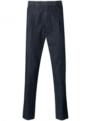Tapered cropped trousers Pt01. Цвет: синий