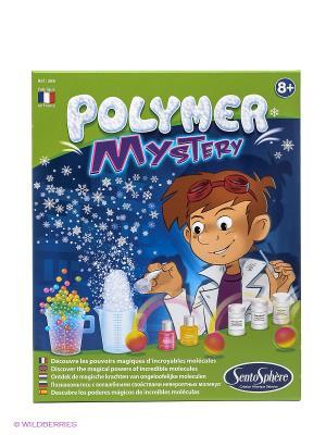 Набор для детского творчества Тайна полимера SENTOSPHERE. Цвет: синий, зеленый