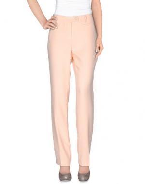 Повседневные брюки GIGUE. Цвет: лососево-розовый