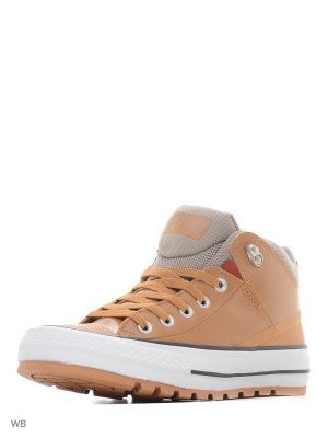 Кеды Chuck Taylor All Star Street Boot Converse. Цвет: оранжевый