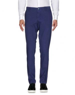 Повседневные брюки DIMATTIA. Цвет: синий