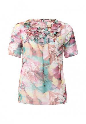 Блуза Devore. Цвет: разноцветный