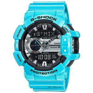 Электронные часы  Gba-400-2C Light Blue Casio G-Shock. Цвет: голубой