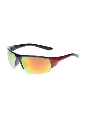 Очки солнцезащитные Infiniti. Цвет: фиолетовый, красный, черный