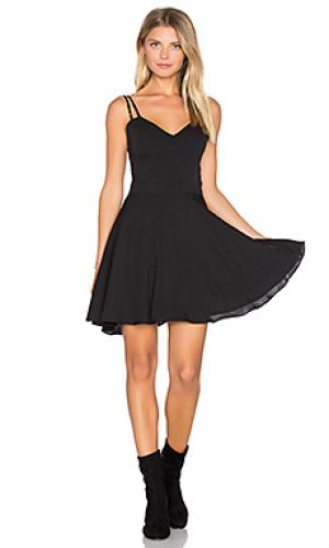 Мини платье marie Amanda Uprichard. Цвет: черный