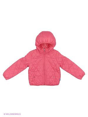 Куртка Button Blue. Цвет: розовый