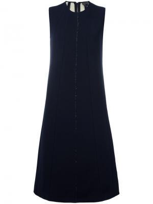 Платье Yakini Tony Cohen. Цвет: синий