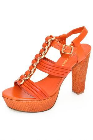 Босоножки BRUNO PREMI. Цвет: оранжевый