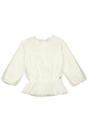 Блузка STEFANIA. Цвет: молочный