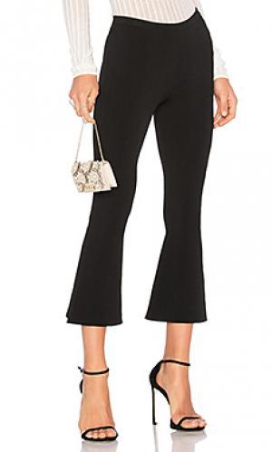 Укороченные вязаные брюки doreen Ronny Kobo. Цвет: черный