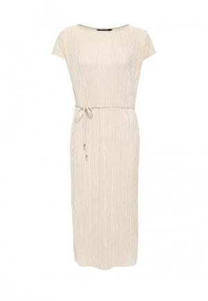 Платье Dorothy Perkins Curve. Цвет: бежевый