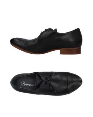 Обувь на шнурках PIAMPIANI. Цвет: черный