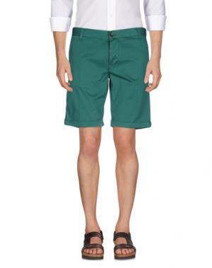 Бермуды BASICON. Цвет: зеленый