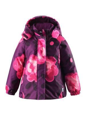 Куртка Lassie by Reima. Цвет: фиолетовый