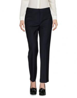Повседневные брюки ALBINO TEODORO. Цвет: темно-синий