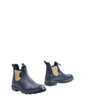 Полусапоги и высокие ботинки GAZEL. Цвет: темно-синий