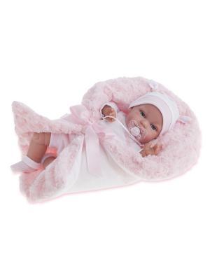 Кукла Вита, озвученная, 34 см. Antonio Juan. Цвет: розовый