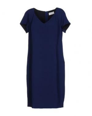 Платье до колена CALALUNA. Цвет: темно-синий